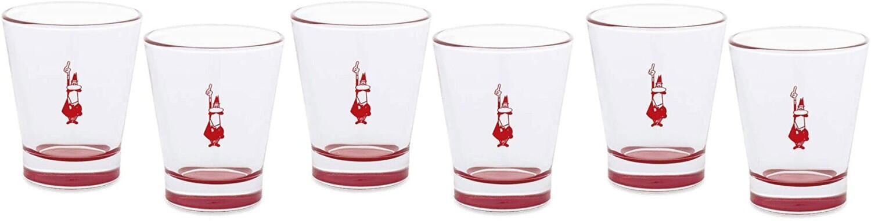 Bialetti Espresso-Glas, 6er Set