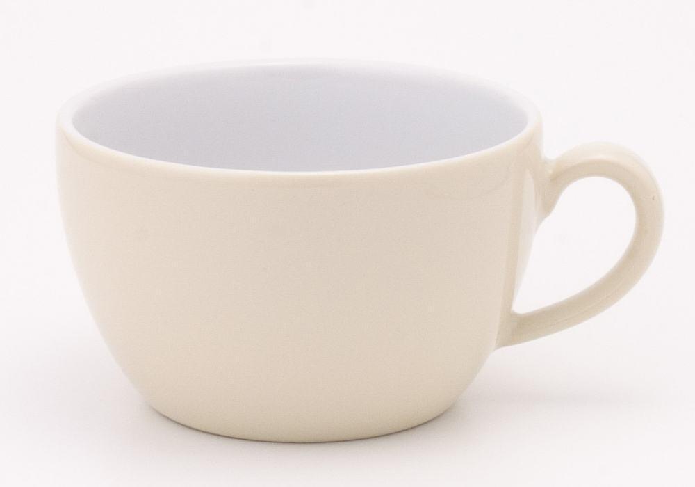 Kahla Pronto Cappuccino-Obertasse 0,25 l in elfenbein