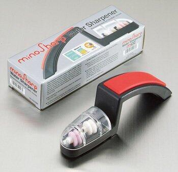 minoSharp Keramik Handschleifer 220 BR in rot/schwarz