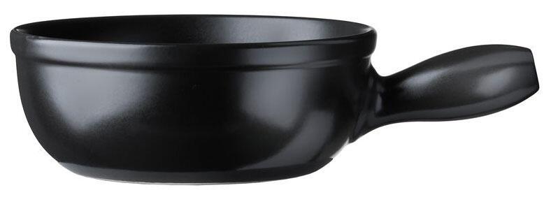 Spring Käsefondue-Caquelon Eco in schwarz