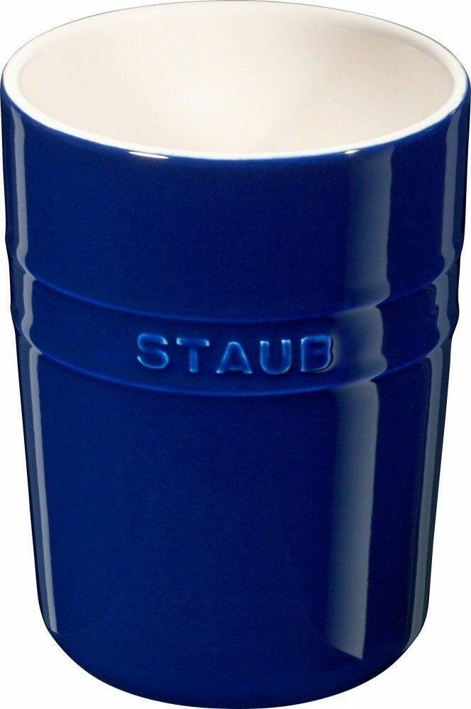 Staub Utensilienhalter in blau