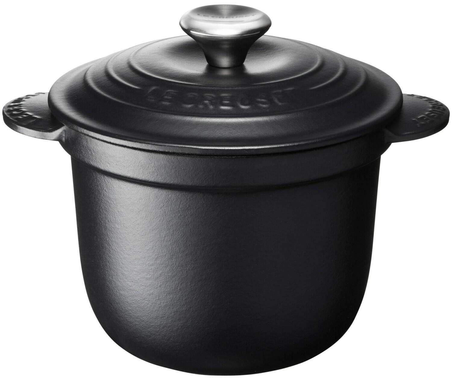 Le Creuset Cocotte Every in schwarz
