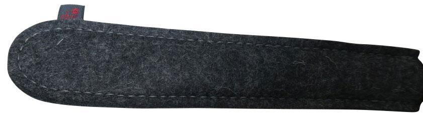 Wollfilz Pfannenstielhalter aus der Kupfermanufaktur Weyersberg
