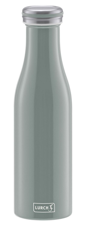 Lurch Isolierflasche in perlgrau, doppelwandig