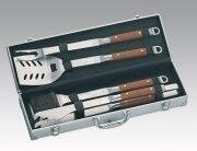 Grillkoffer - nützliches Werkzeug für das Barbecue im kompakten Set