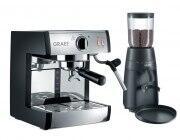 Graef Espressomaschine Pivalla & Kaffeemühle