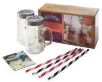 Kilner Trinkglas-Set, 9-teilig