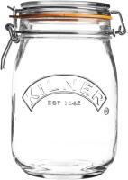 Kilner Clip Top Einmachglas, rund