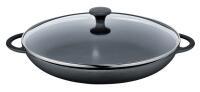 Küchenprofi Paellapfanne Provence in schwarz