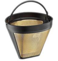 Cilio Gold-Dauer-Kaffeefilter Größe 2