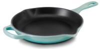 Le Creuset Brat- und Servierpfanne Signature in cool mint, 23 cm