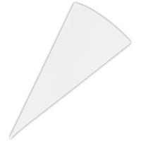 Städter Spritzbeutel Dekorbeutel / Beschriftungsbeutel 21 cm Weiß