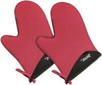 Spring Handschuh Grips kurz in rot-schwarz, 1 Paar