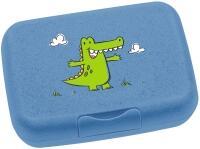 Leonardo Brotdose BAMBINI blau Krokodil