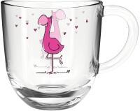 Leonardo Tasse BAMBINI 280 ml Flamingo, 6er-Set