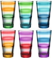 Leonardo Trinkglas EVENT 6 Stück sortiert 315 ml Farbverlauf