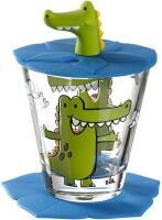 Leonardo Kindertrinkset BAMBINI 3-teilig Krokodil