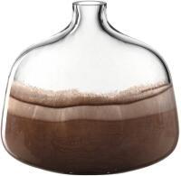 Leonardo Vase CASOLARE 24,5 cm braun