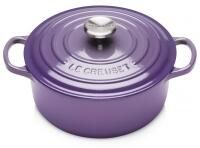 Le Creuset Bräter Signature rund in ultra violet