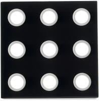 Mepal Untersetzer domino - schwarz