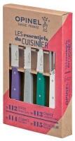 Opinel Küchenmesser-Set Essentials, 4-teilig