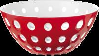 Guzzini Schüssel Le Murrine in rot-weiß