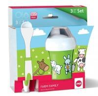 Emsa Farm Family Baby-Set, 3-teilig