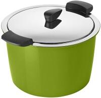 Kuhn Rikon Hotpan Servierkochtopf in grün, 5 L