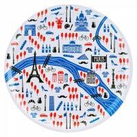 Åry Trays Tablett Paris rund mit 38 cm Durchmesser