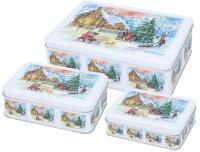 Birkmann Gebäckdosen-Set Weihnachtsabend, 3-teilig