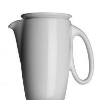 Collezione ALTA Kaffeekanne von Porzellanfabrik Walküre, weiß