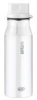 alfi Trinkflasche elementBottle Pure weiß mit Trinkverschluss 0,6 Liter