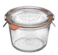 Westmark Sturzglas mit Glasdeckel 250 ml, 4er Set