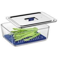 WMF WMF Frischhaltebox Top Serve mit Abtropfgitter, 3 Liter