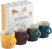 Le Creuset Becher 4er-Set 100 ml, Botanique