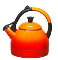 Le Creuset Wasserkessel Drop in ofenrot