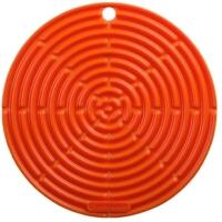 Le Creuset Topflappen rund in ofenrot