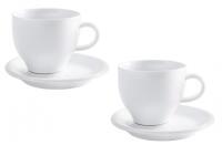 Kahla Café Sommelier Milchkaffee Set 4tlg. in weiß