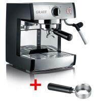 Graef Espressomaschine Pivalla ES 702 mit Kapsel-Siebträger