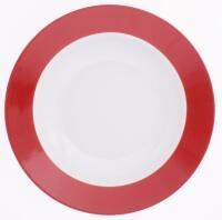 Kahla Pronto Suppenteller 22 cm in rot