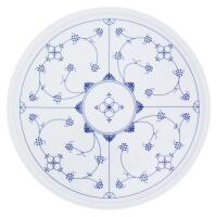Kahla Tradition Platte/Tortenplatte, 31 cm in Blau Saks