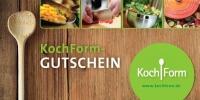 Kochform Gutschein - das ideale Geschenk für Kurzentschlossene
