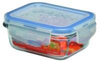 Lock & Lock Frischhaltebox rechteckig aus Glas, 130 ml