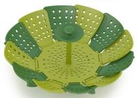 Joseph Joseph Dampfgareinsatz Lotus Steamer Plus in grün