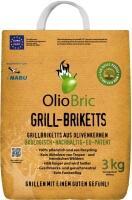 OlioBric Grill-Briketts aus Olivenkernen