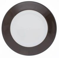 Kahla Pronto Frühstücksteller 20,5 cm in schokobraun
