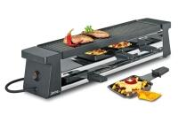 Spring Raclette4 Compact in Aluminiumguss, schwarz