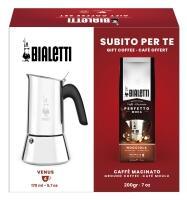 Bialetti Set Espressokocher Venus + Kaffee