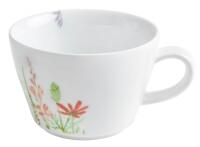 Kahla Magic Grip Wildblume Cappuccino-Obertasse 0,25 l, rot-gelb