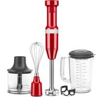 KitchenAid Stabmixer Set in empire rot
